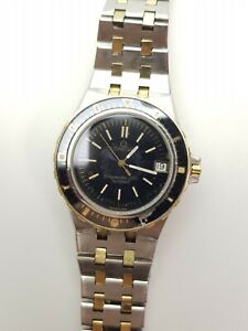 Omega Seamaster 120 Jacques Mayol - 37,5mm - Bicolor Gold Steel