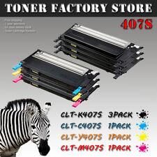 6PK CLT-407S Set Toner For SAMSUNG CLX-3180 CLX-3185FW CLX-3185N CLX-3186