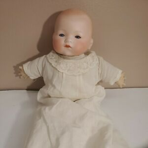 """Armand Marseille Vintage Antique 13"""" Bisque Head Dream Baby Doll, Germany AM"""
