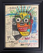 Jean Michel Basquiat Drawing Original King Samo Rare Vintage
