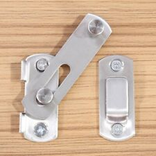 Stainless Steel Lock+Screw For Sliding Barn Door Wood Door Latch Gate Door Parts