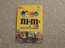 Racing Champions M&M's Racing Team #36 Ken Schrader K-Mart Limited 1:64 MOC 2002