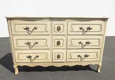 Vintage French Provincial Triple Dresser By Cau