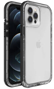 LifeProof NEXT Series Case for iPhone 12 Pro Max - BLACK CRYSTAL (CLEAR/BLACK)