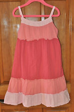 Shades of Coral/Pink Sun Dress Size Small (Like a 4-5) Great Condition
