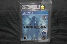 VGA 90 Rise of the Tomb Raider 20 Year Celebration (Playstation 4 PS4) NEW GOLD!