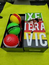 Tekxyz Reflex Ball Upgraded Set - Comfortable Headband with 3 React Reflex