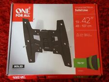 One For All Universal Wall Mount WM4221 19-42 inch TV Bracket Tilt Solid Series