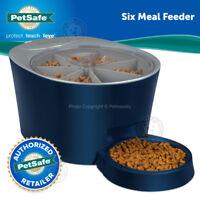PetSafe 6 Meal Automatic Pet Feeder Digital Clock LCD Screen Display S-M Cat Dog