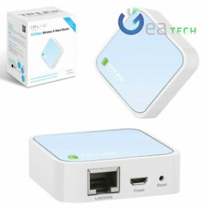 TP-LINK Router Nano Pocket TL-WR802N Containing 300Mbit/S Adapter Port Noodle