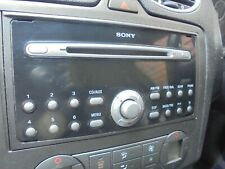 ford sony cd player and code from 2007 ford focus st