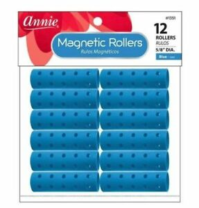 Annie Magnetic Rollers Hair Curler Smooth Defined Wavy Large Small Jumbo *1PC