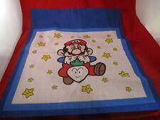Super Mario Bros. 2 Nintendo NES Era Fabric Cloth Sheet Handkerchief Like Square
