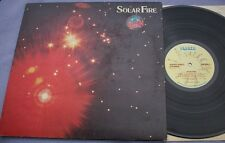 SOLAR FIRE Manfred Mann Earth Band A2/B1 G/FOLD UK Island ILPS FIRST PROG ROCK