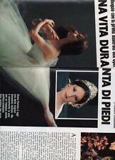 SP56 Clipping-Ritaglio 1978 Diana Ferrara Una vita dura, in punta di piedi