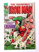 Invincible Iron Man 6, 1968 Silver Age Marvel Comic Book