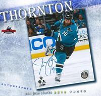 JOE THORNTON Signed San Jose Sharks 8 x 10 Photo - 70470