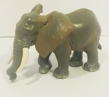 Schleich 14027 Elephant Creeping Animals RARE Collectible Animal Tusks Africa