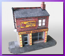 7mm Scale Chinese Takeaway Card Model Kit  1:43 Scale Ideal For O Gauge Railways