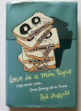 Love Is A Mix Tape Rob Sheffield Music Indie Rock Hardcover Book