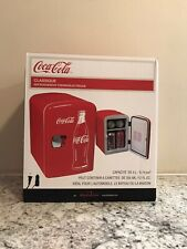 Coca-Cola 6 Can Personal Mini Cooler Fridge 120VAC or 12VDC - Free Shipping