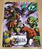 2000 Nintendo The Legend of Zelda Majora's Mask / Pokemon Poster 56x40cm