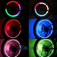 1x 5 LED Flash Light Bicycle Motorcycle Car Bike Tyre Tire Wheel Valve Lamp