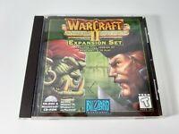 Warcraft II Beyond the Dark Portal PC CD Game MS DOS MAC Blizzard Expansion Set