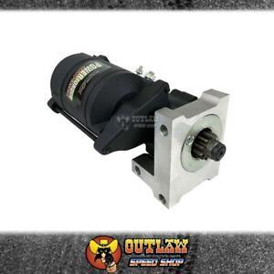 PROFLOW STARTER MOTOR POWER TORQUE MINI BLK FITS SBC/BBC 1.4kW 168T - PFEPM9500