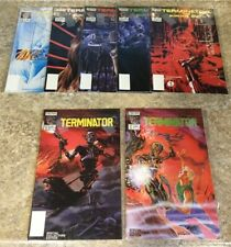 now comics THE TERMINATOR #1-2 special collectors edition the burning earth 1-5