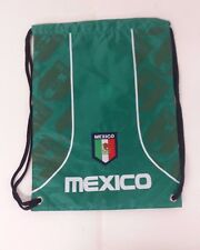 Mexico Cinch Bag Color  Team Green Official Licensed Product  NWOT
