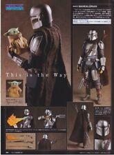 Star Wars The Mandalorian MAFEX 16cm Action Figure MEDICOM TOY December-Launch