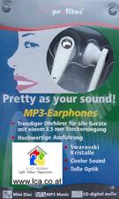 MP 3 Ohrhörer mit Swarovski-Kristallen ( 10 Stück )
