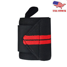 Sport Gym Wrist Brace Support Weight Lifting Strap Wristband Protector Bandage