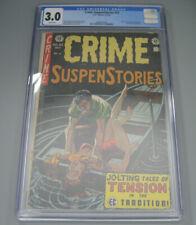 Crime SuspenStories #23 1954 EC CGC 3.0 Used in Senate investigation