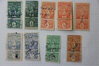 Mexico Revenue 1899-1900 25c MAZATLAN used partial set district overprint