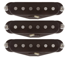Suhr V60LP Low Peak Classic Vintage 60's Single Coil Black Strat Pickup Set