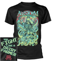 Alestorm You Fight Like A Dairy Farmer Shirt S-XXL Metal Band T-Shirt Official