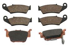 Front & Rear Brake Pads 2004-2014 Honda TRX450R, TRX450ER Sportrax Semi-Metallic