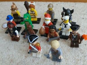 Assorted Lego Minifigures Pirates of Caribbean, Series 4,5&8, Create Your Bundle