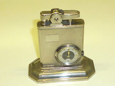 Eclydo watch Table petrol Wick lighter-relojes encendedor - 1950-Made in Germany