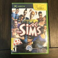 The Sims 2003 Microsoft EA Games Xbox Video Game With Manual (Untested)