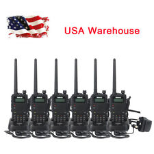 6X Retevis RT5 1750Hz  8W Dual Band CTCSS/DCS 128CH VOX Scan FM Two Way Radio US