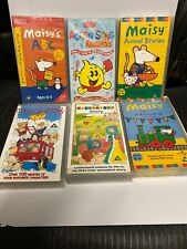Collection Of 6 Kids Videos VHS Maisy Tumble Tots Letterland Etc