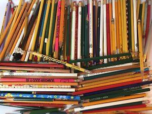 Lot of 175 Plus Vintage Pencils Packard Sinclair Oil Advertising