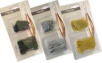 150 x Christmas Tree Ornament Baubles Hangers Hooks Silver Gold Hanging Wire