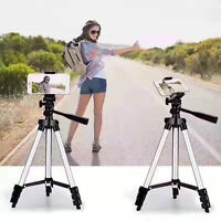 Professional DSLR Camera Tripod Stand Holder Mount For iPhone Samsung Cell Phone