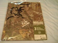 Realtree Package of 3 Woodland Camo Gift Bags NIP