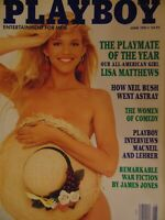 Playboy June 1991 | Lisa Matthews Sashia Linssen   #7679