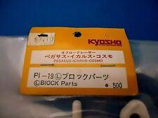 VINTAGE KYOSHO PEGASU, ICARUS (L) BLOCK PARTS PI-19 NEW IN PACKAGE